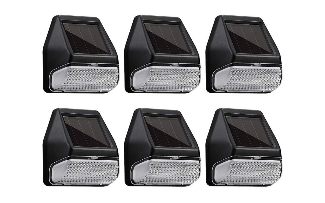 Get a six-pack of outdoor solar LED lights for $15, more in today's Green Deals