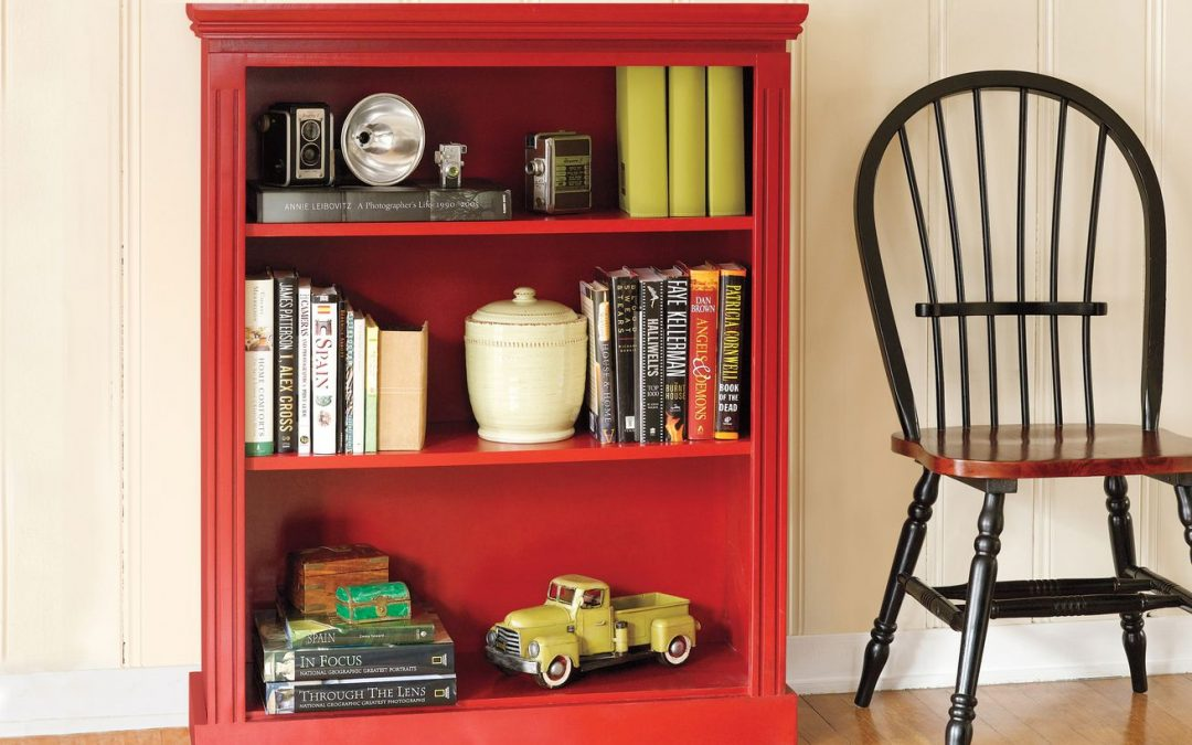 How to Build a Small Bookcase with Moldings