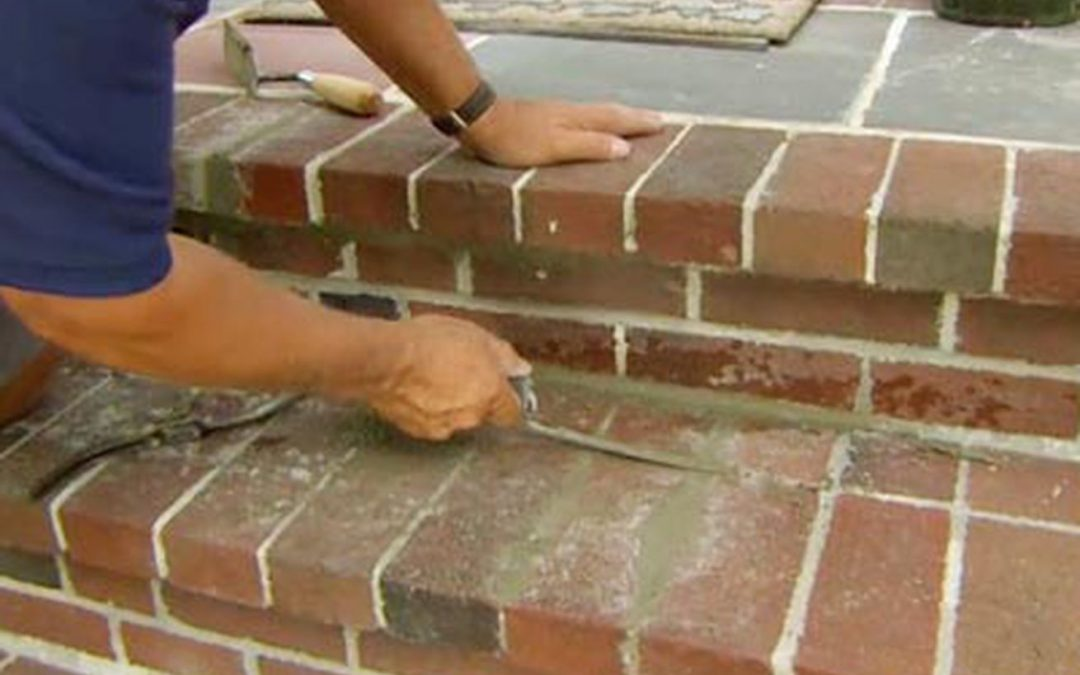 How to Repoint Brick Steps