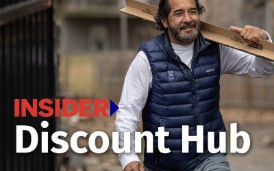 INSIDER's New Discount Hub
