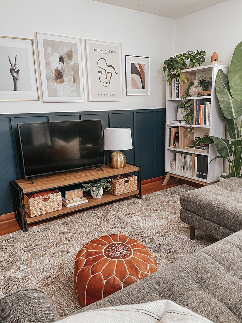A Media Console For The Lounge Room