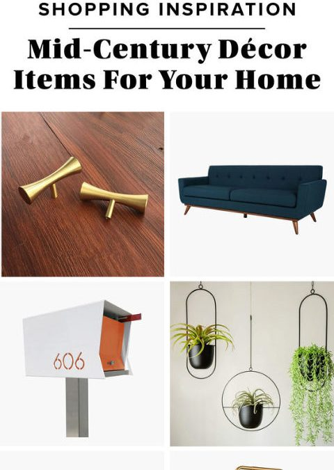 12 Mid-Century Décor Items For Your Home
